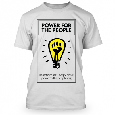 Power For The People T-Shirt
